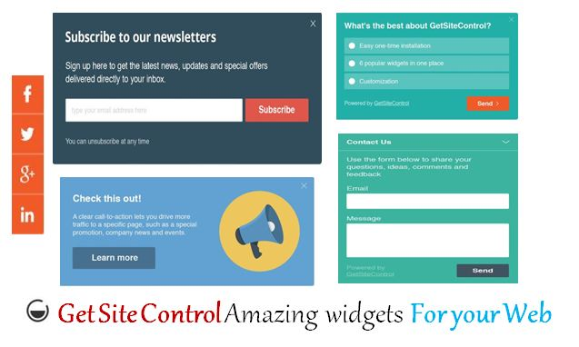 Getsitecontrol widgets blogger, how to install getsitecontrol in blog