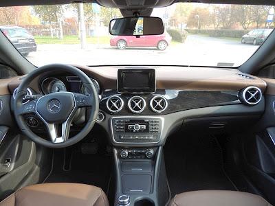 Mercedes CLA - wnętrze