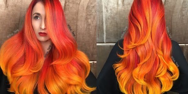 The master of color shows us how to create an astonishing fire ...