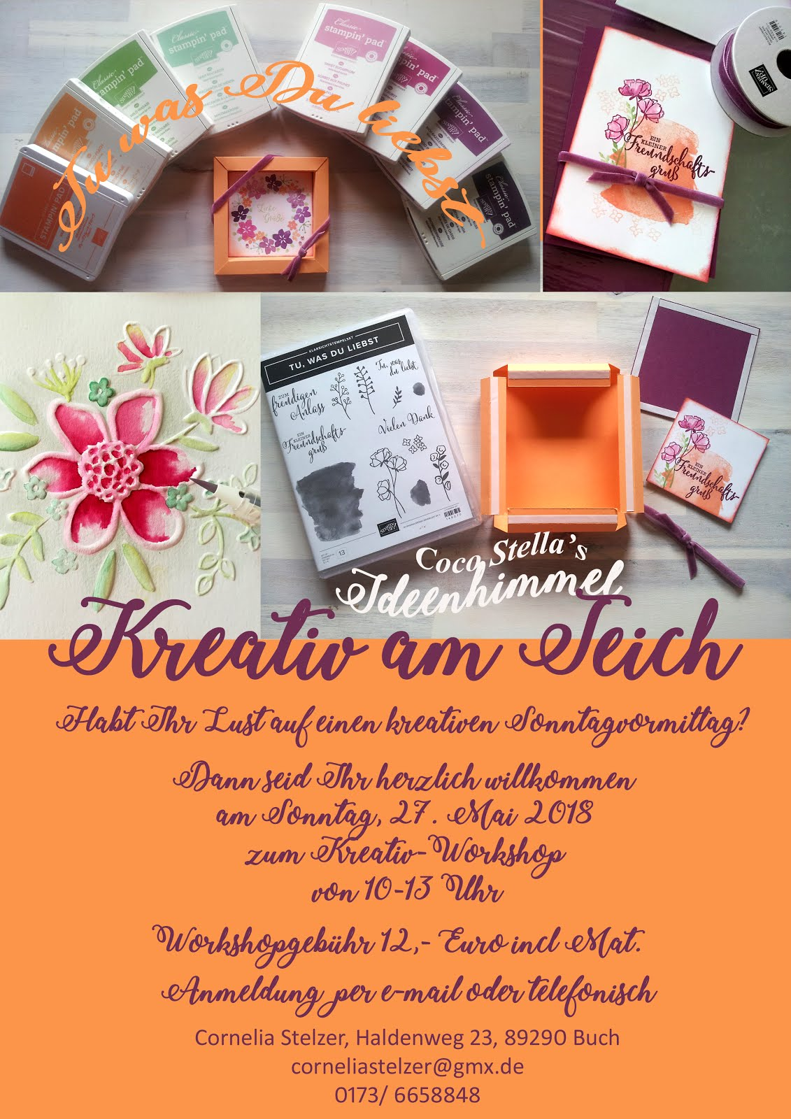 Kreativ-Workshop am Teich
