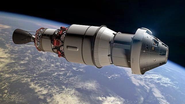 Orion, la nave que nos llevará a Marte