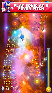 Screenshots of the Sonic Jump Fever for Android tablet, phone.