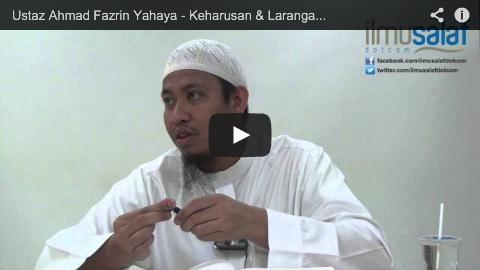 "Ustaz Ahmad Fazrin Yahaya – Keharusan & Larangan Perkataan ""Kalau"""