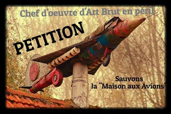 petition pour sauvegarder la ferme maison aux avions et canons de steenverck -gricha rosov art brut outsider