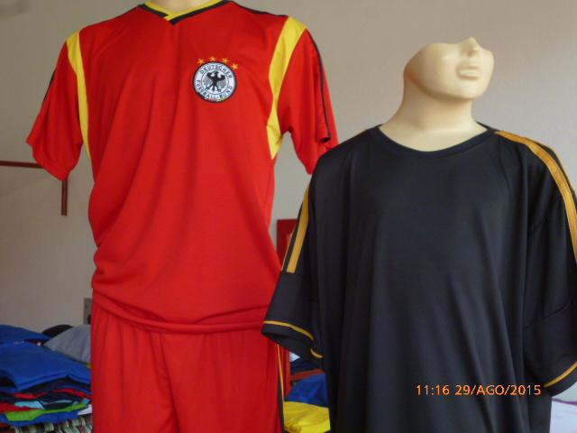 Camisa Alemanha e Real