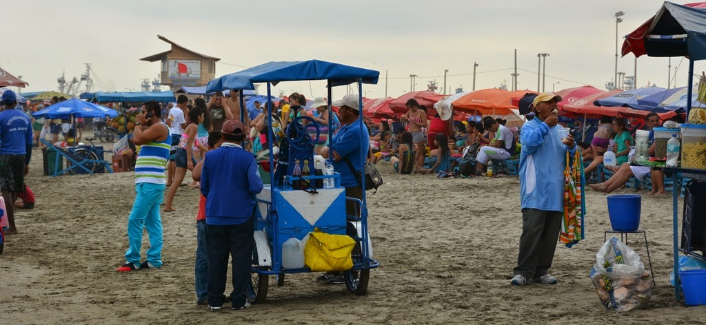 El Murciélago Beach Manta snacks