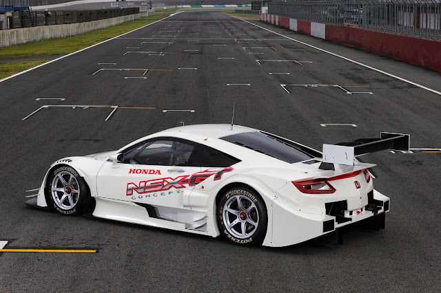 world's first car to boil water - NSX Concept-GT from Honda