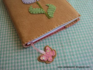dicas e passo a passo de cadernos decorados