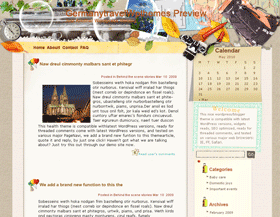 German Way of Backpacking Blogger Templates