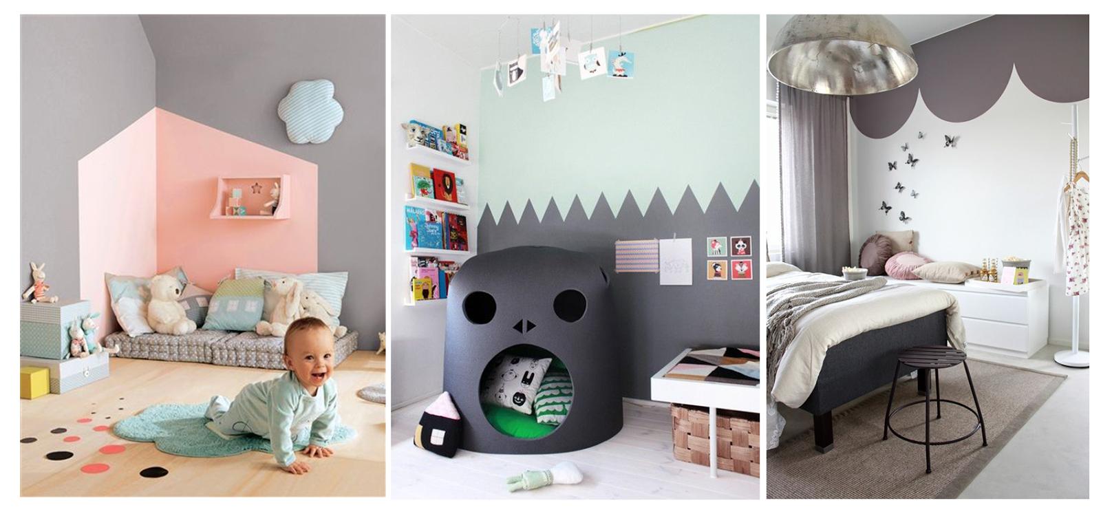 Idee per una cameretta fai da te makeyourhome - Idee camera neonato ...