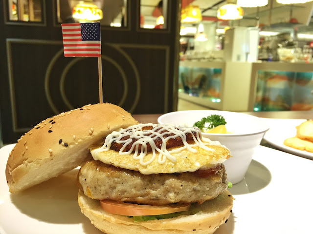 Swensen's 2015 Christmas Menu - Swensen's Turkey Burger