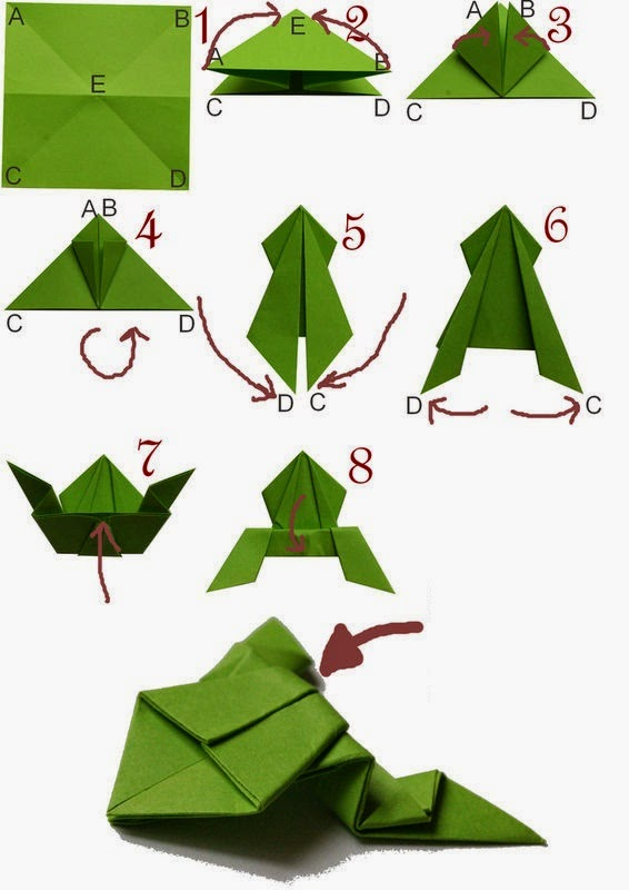 origami directions for kids