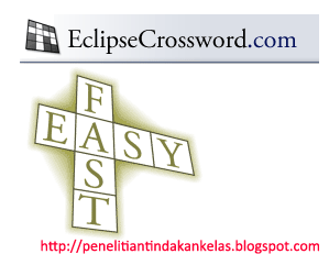 EclipseCrossword, software gratis dan mudah digunakan untuk membuat TTS