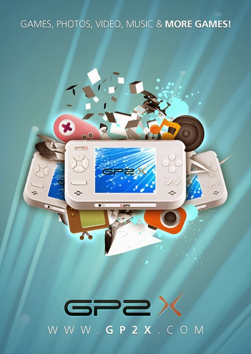 A Poster for a Portable Gaming Device