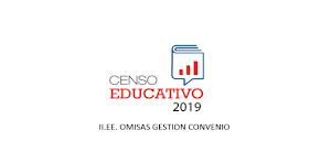 CENSO EDUCATIVO 2019 OMISOS CONVENIO