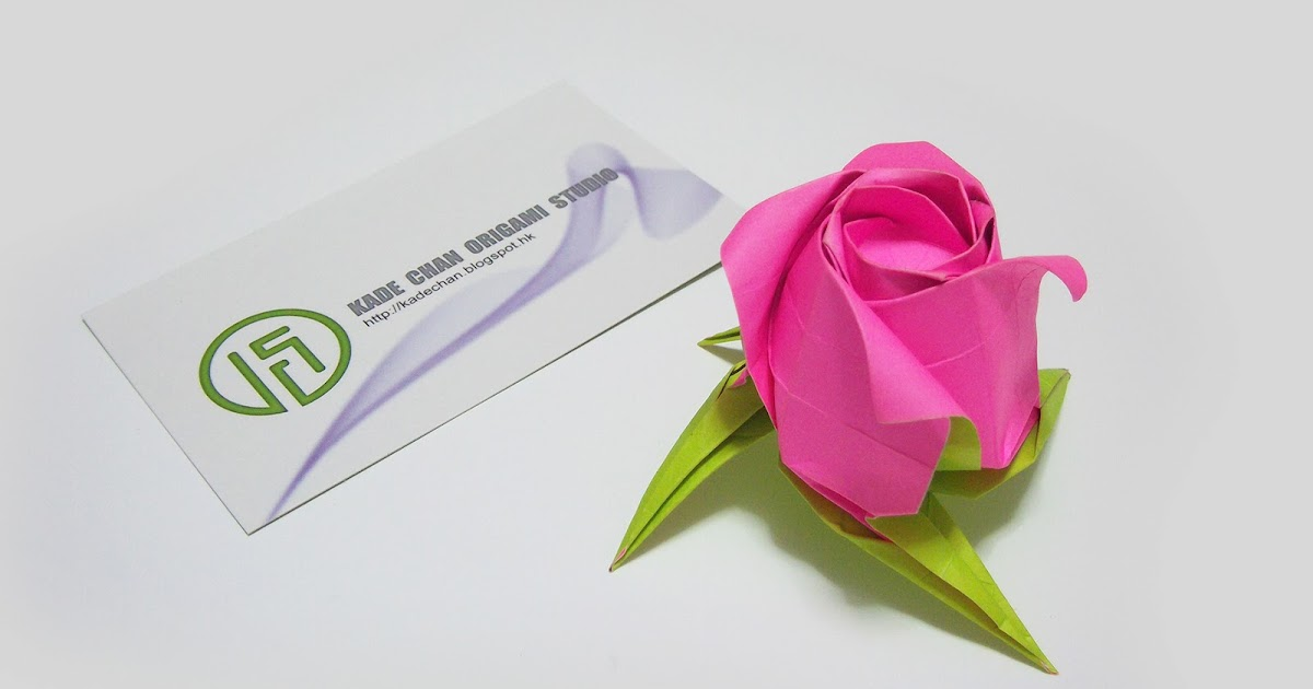 Post It Note Origami Rose