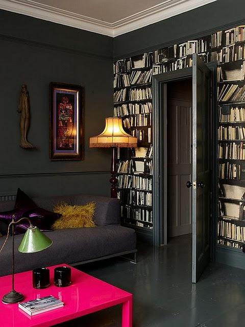 ... Apartment Gemma Ahern: Bermain Dengan Warna Gelap ~ EKSPRESIRUANG