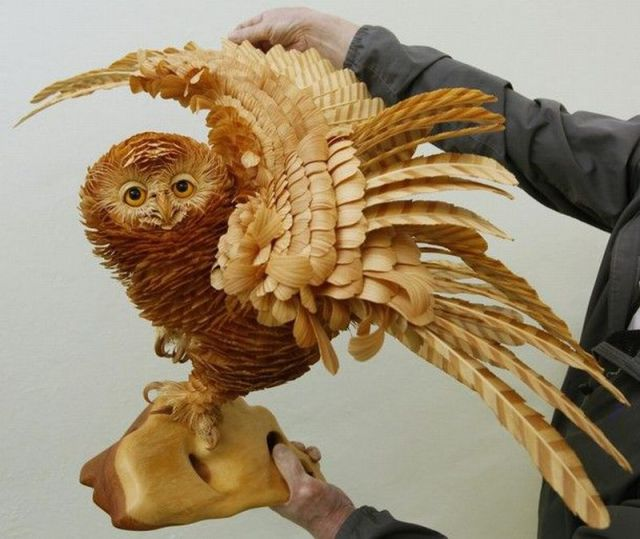 Funny Images   imthy: Amazing Wood Carving