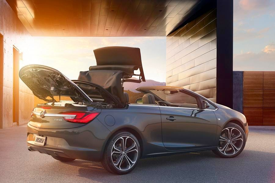 Buick Cascada (2016) Rear Side