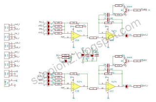 Stereo Bass Booster circuit