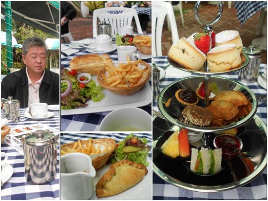 Minum petang bersama Mr. Ming (Manager Strawberry Park Resort, Cameron Highlands)
