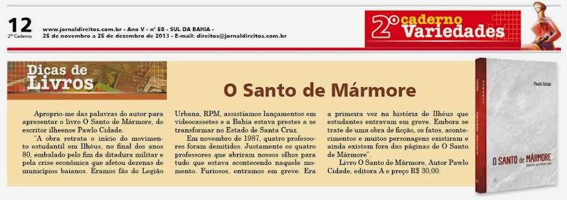 Publicado no Jornal Direitos