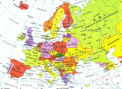 Nel 2012 con i nomi degli con i nomi stati e delle città in italiano