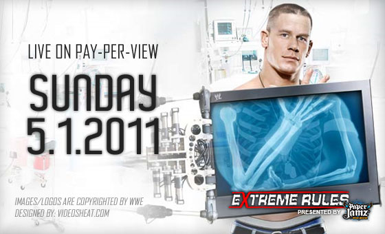 extreme rules 2011 extreme rules is a one night of the year when rules