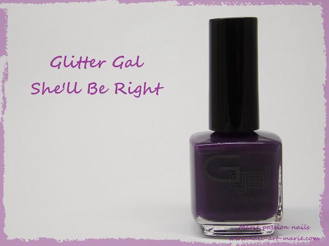 Glitter Gal She'll Be Right1