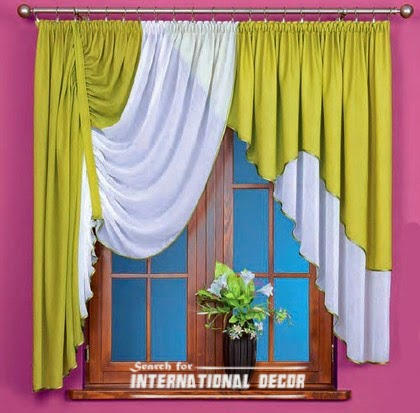 summer shade,kitchen curtains,green curtains,curtain designs,small curtains