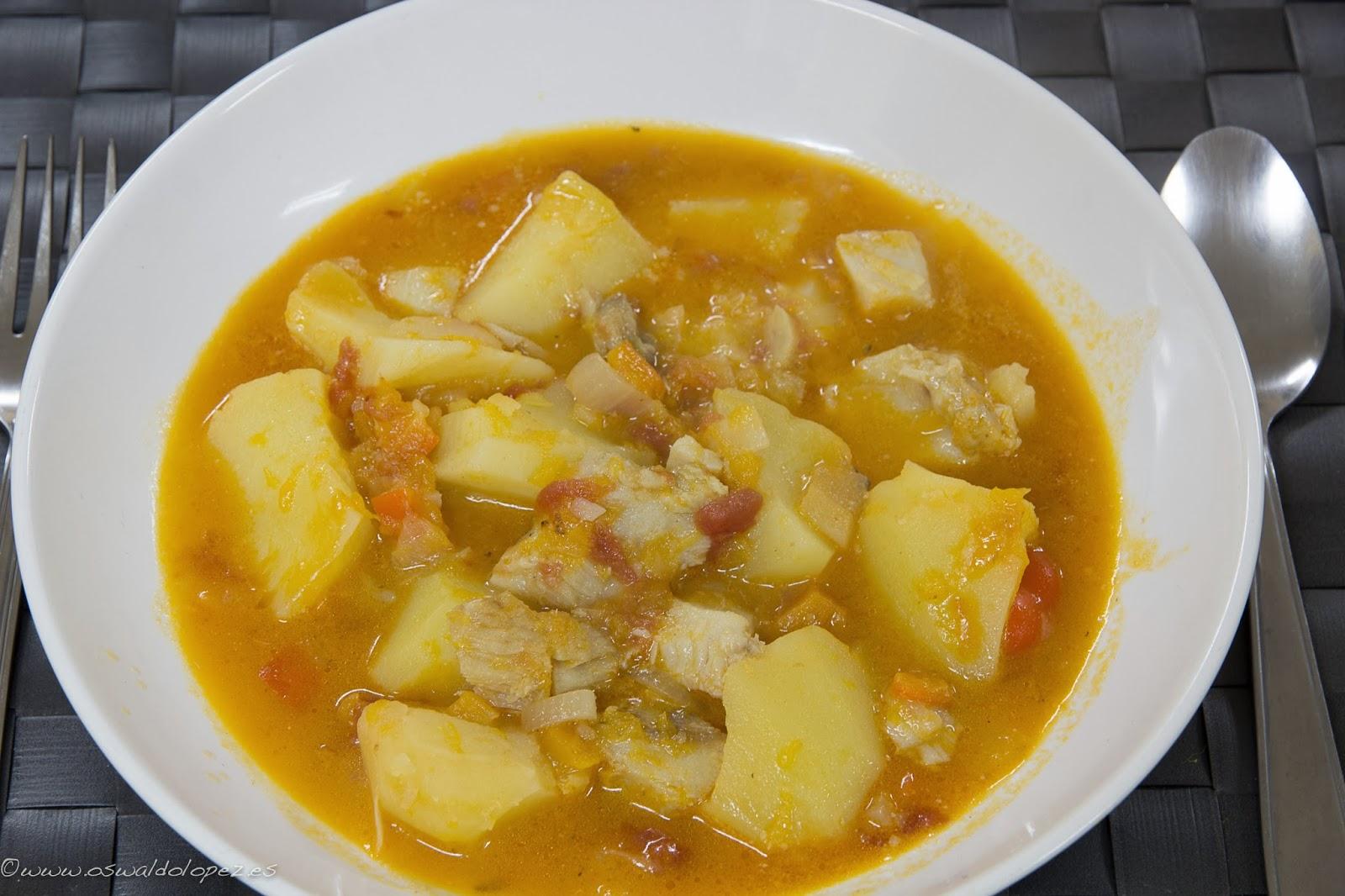 La cocina para ti patatas con bacalao - Bacalao con garbanzos y patatas ...
