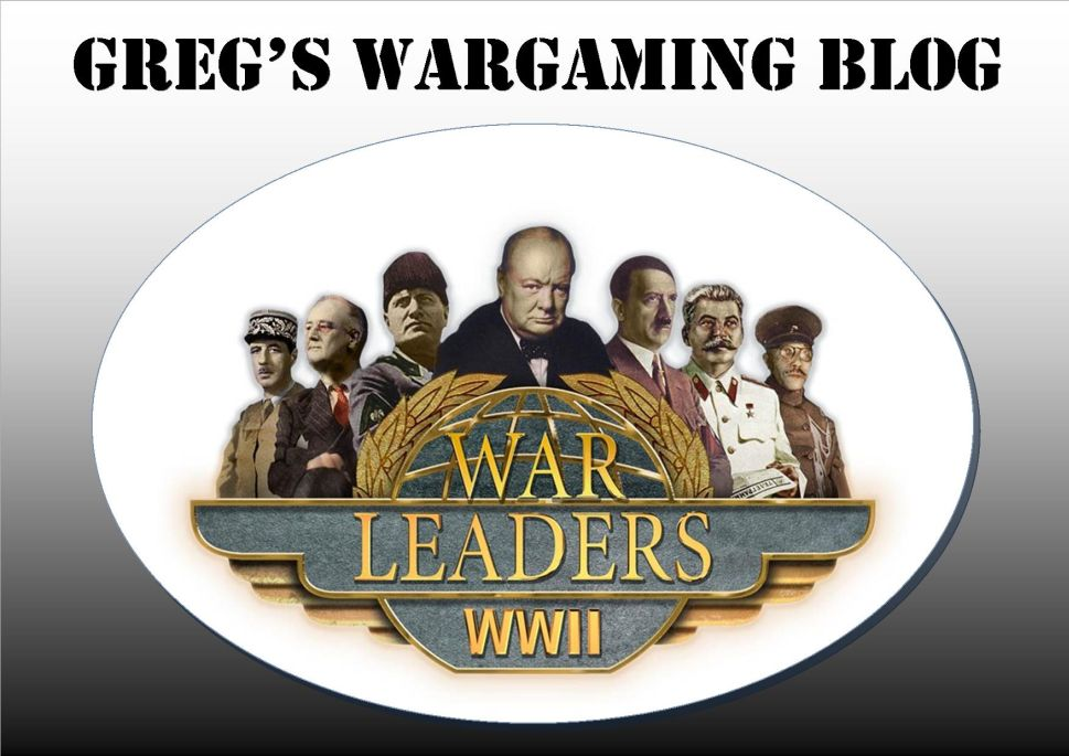GREG'S WARGAMING BLOG