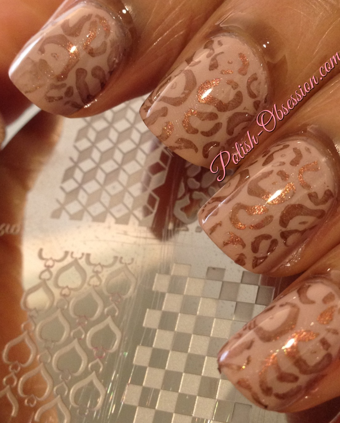 Nail Polish Canada - Stamping Plate Review | Polish Obsession