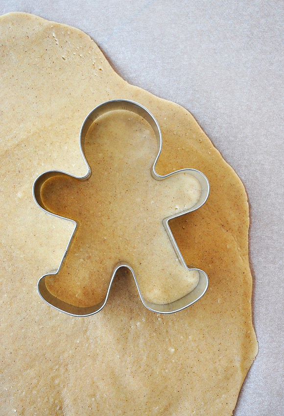 Confessions of a spoon: Gingerbread men cookies without molasses