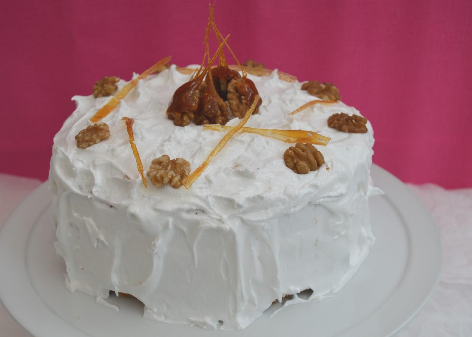 Carrot And Walnut Cake Recipe Mary Berry