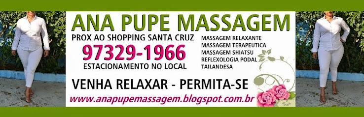 Ana Pupe Massagem