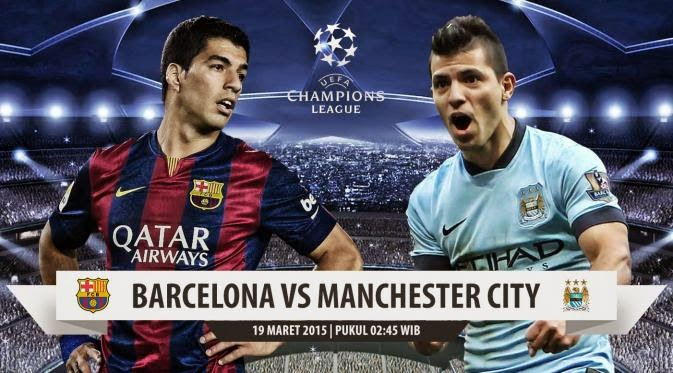 Barcelon   a vs Manchester City Liga Champions 2014-2015