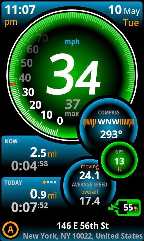 Cara Menjadikan Android Sebagai Speedometer