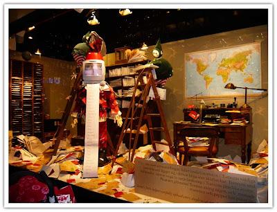 NK julskyltning önskelistorna bild 1