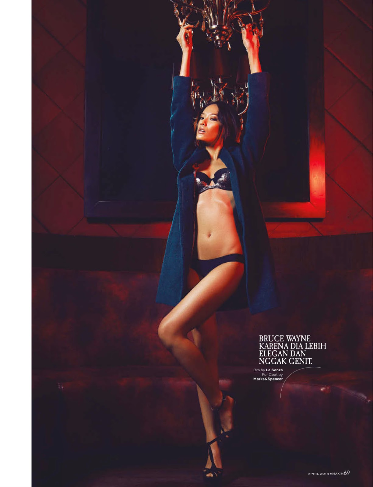 Dara Warganegra For Maxim Magazine, Indonesia, April 2014