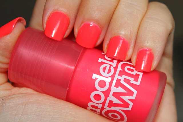 NOTD - Models Own Pink Punch