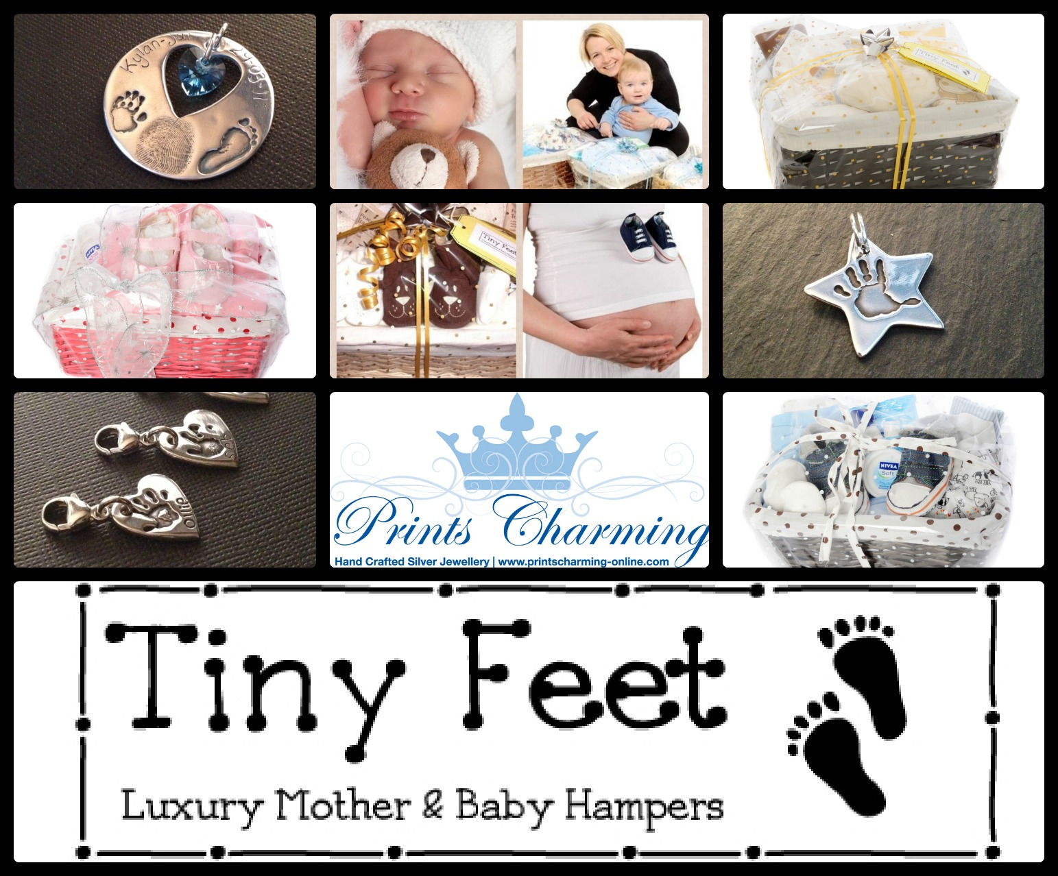 Mother And Baby Gifts Delivered Uk : Tiny feet hampers mother s day hamper gifts