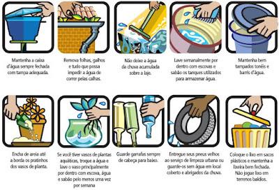 Medidas para prevenir a dengue