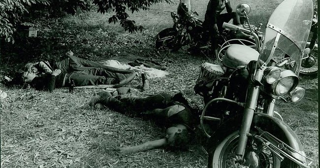 Outlaws Unpublished Riding Vintage