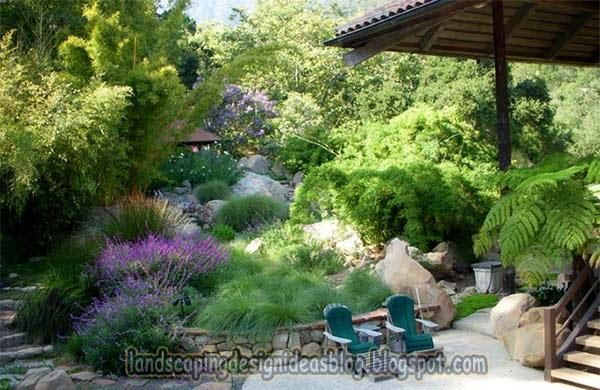 Hill Backyard : landscaping ideas for backyard hill Idea!  landscaping design ideas