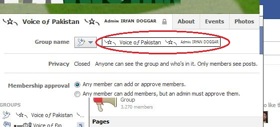 how to change the name of your facebook group