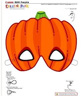 Halloween - máscaras