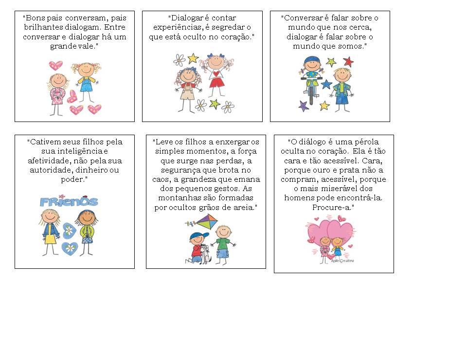 Spacinho Cartões Para Lembrancinha De Reunião De Pais