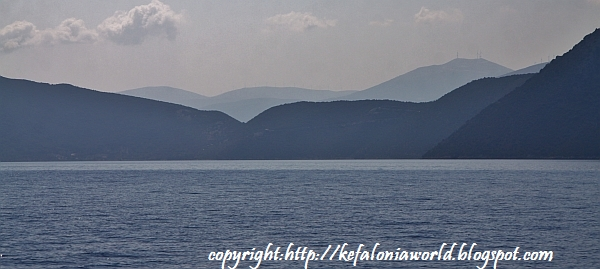 Sailing from Ithaca to Kefalonia