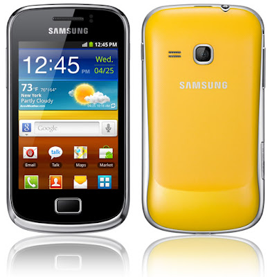 [Smartphones] Hands-on do Samsung Galaxy Mini 2
